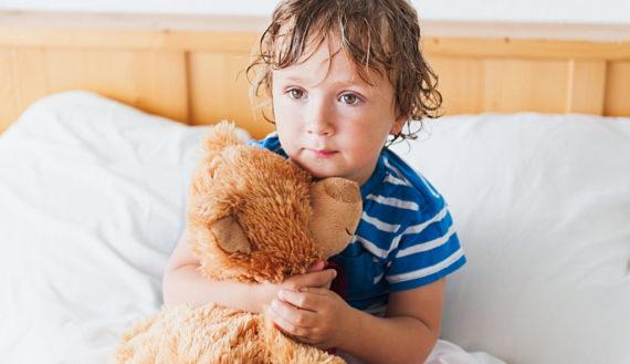 Bettnässen bei Kinder